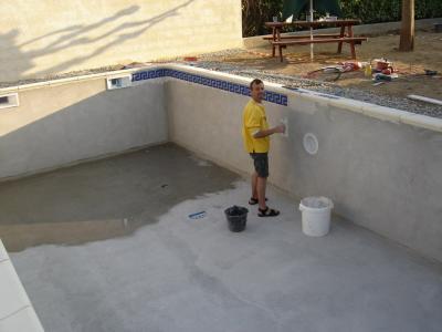 Mosaique ma piscine - Colle pour mosaique piscine ...