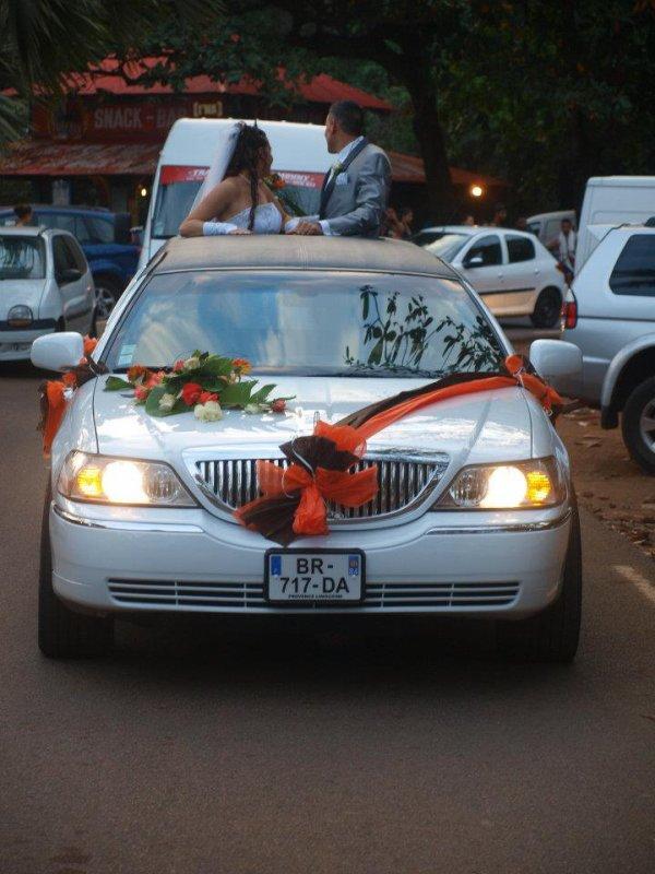 d coration pas ch re pour mariage la r union en limousine contact 0692 54 93 58 limousine. Black Bedroom Furniture Sets. Home Design Ideas