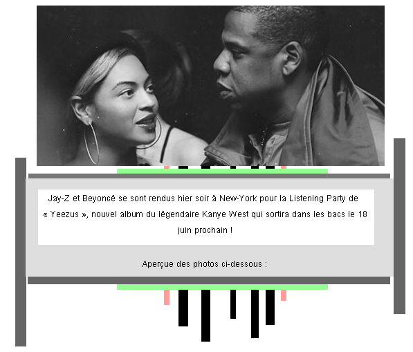 Article 37 : Les Carter se rendent � la Listening Party du nouvel album de Kanye West.