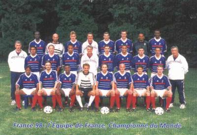 Blog de equipe de france1998 page 7 equipe de france 1998 - Coupe du monde foot 1998 ...