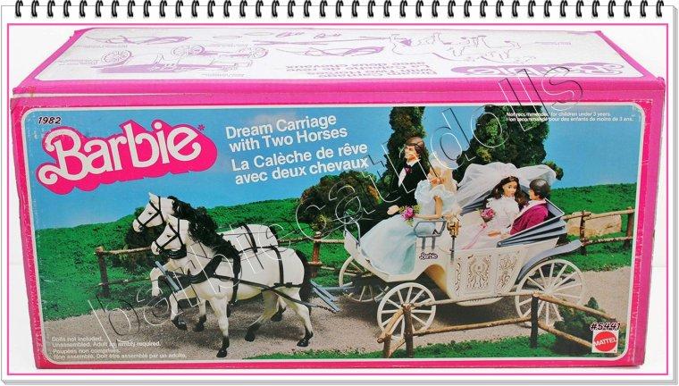 Le mariage des amis de barbie blog de barbiecathdolls - Barbie caleche ...