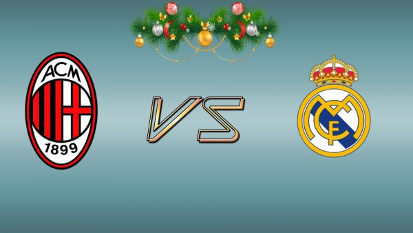 Milan AC (ITA) / Real Madrid (ESP) Mardi 30 Décembre à 17h00