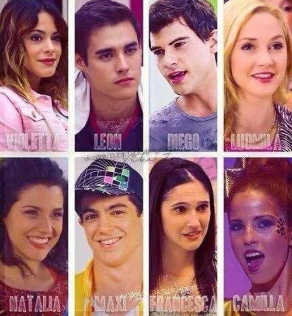Personnages importants dans la saison 2 de violetta 1er - Violetta saison 2 personnage ...