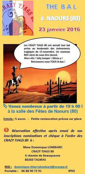 BAL COUNTRY A NAOURS (80) LE 23 JANVIER 2016