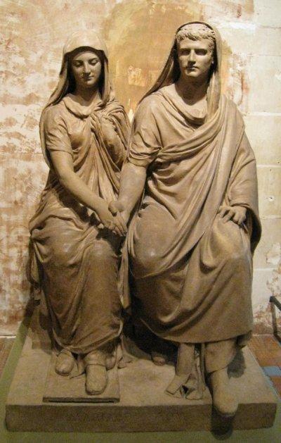 Matrimonio Romano Confarreatio : Mariage en rome antique de maximaderomanus
