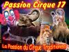 Passion Cirque 17 vous souhaite un très bonne et heureuse année !