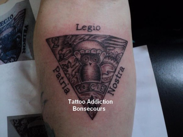 legio patria nostra tattoo addict