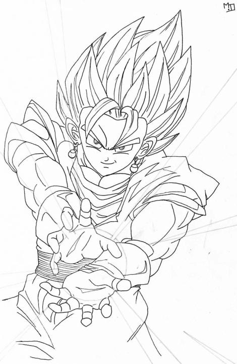 Dessin 34 vegeto dessin de dudus - Dessin de dragon ball super ...