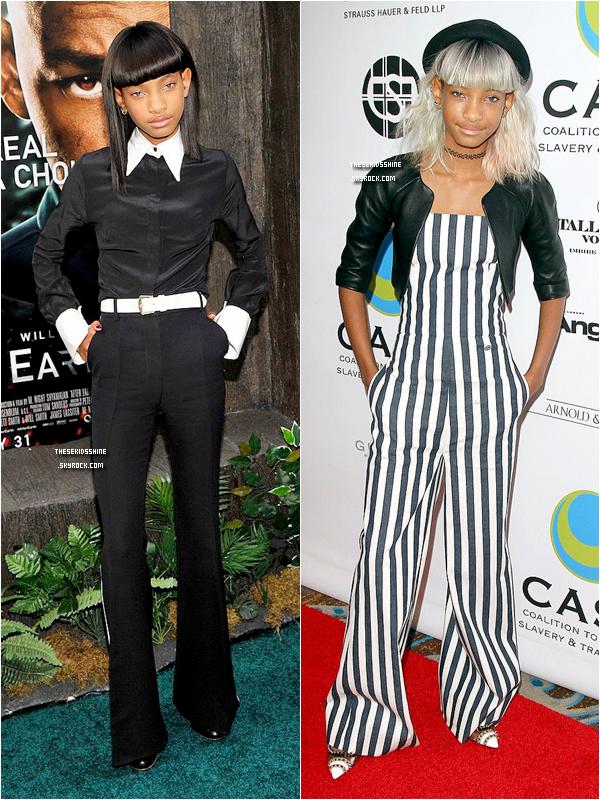 » Sondage.  Quelle tenue de Willow préférez vous ?