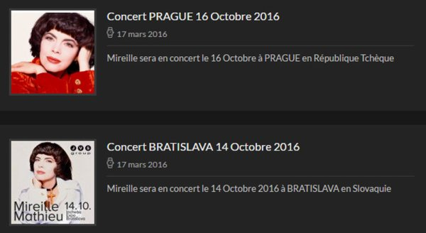 Concerts MM - 2016