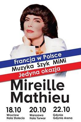 Ambassade de France en Pologne - Mireille Mathieu