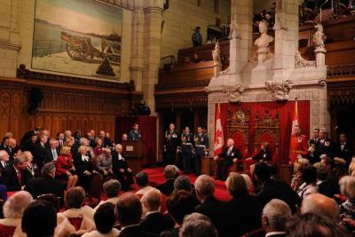 Un nouveau gouverneur général pour le Canada : son Excellence le très honorable David Johnston