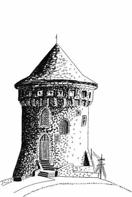 Dessin de la Tour Tanguy -