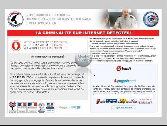 IMPORTANT      Communication de l'ANSSI sur une arnaque en ligne