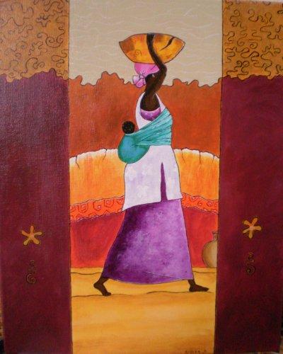articles de sylviab tagg s femme africaine passion peinture. Black Bedroom Furniture Sets. Home Design Ideas