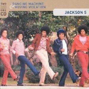 THE JACKSON 5  -  DANCING MACHINE  (1974)  +  MOVING VIOLATION  (1975)  (Rééd. 2001)