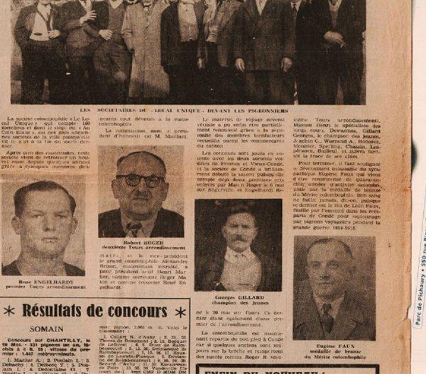 Condé Sur Escaut en juin 1962