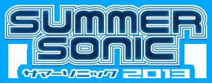 SUMMER SONIC 2013