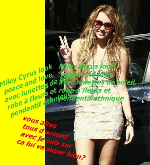 Quel est ton Look préférer de Miley?