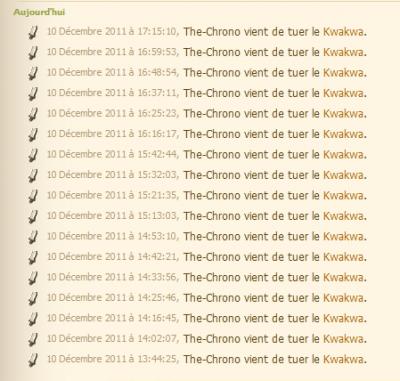 17 donjons kwakwas.