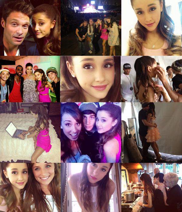 The Way & Heart Attack Mashup (Ariana Grande et Demi Lovato) par Frankie Grande. Demi a beaucoup aimé la vidéo, et elle a écrit sur Twitter qu'elle aimerait beaucoup faire une collaboration avec Ariana !
