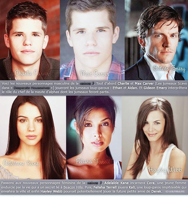 Nouveaux personnages | SAISON 3