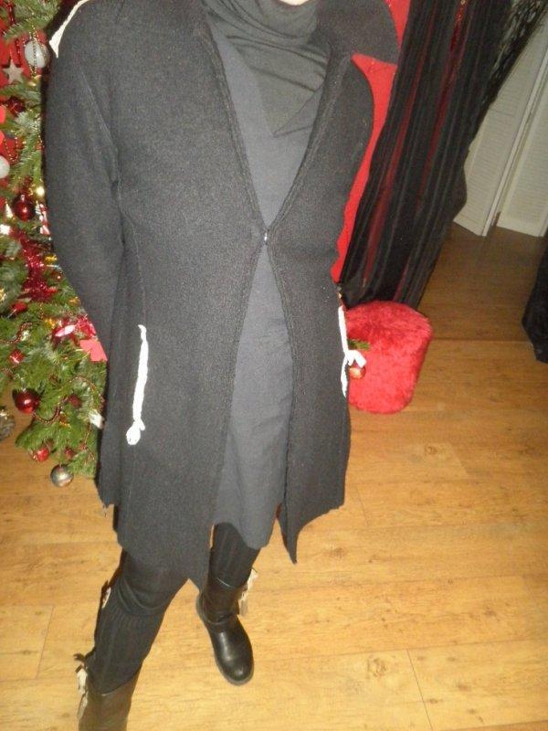 personnalisation manteau laine bouillie