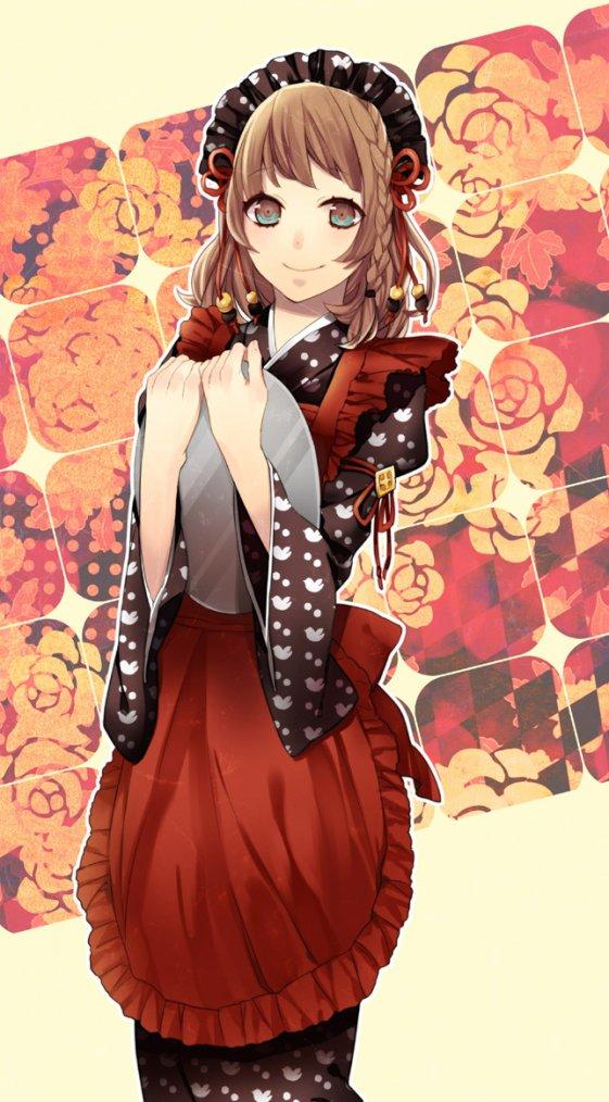 Héroine de Amnesia version maid !
