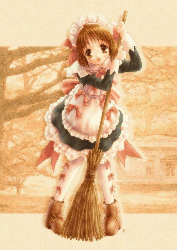P'tite maid !