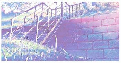 Les escaliers où on traînait...