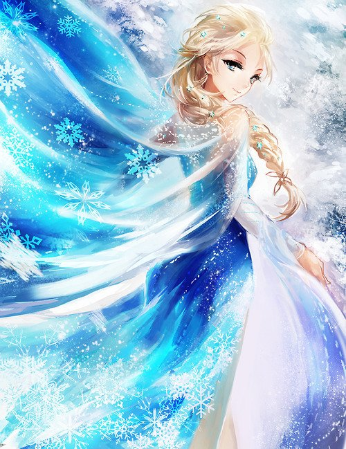 La reine des neiges version manga