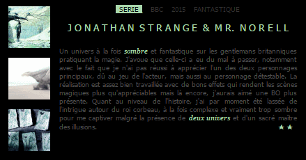 #Rattrapage Séries