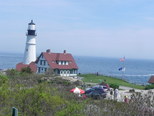 Lundi, Memorial Day. Je suis allée voir LE paysage typique de la Nouvelle-Angleterre..