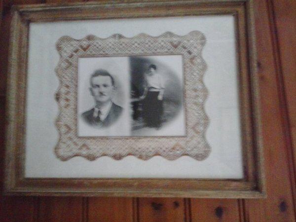 Cadre de mes grand-Parent