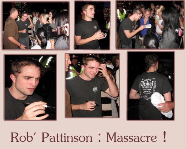"""Nouvelle """"coupe"""" de cheveux de Robert Pattinson </3"""