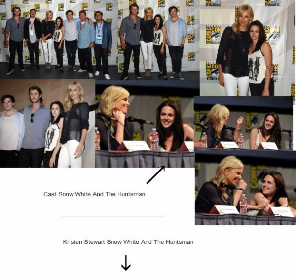 Cast Snow White And The Hunstman et Kristen Stewart