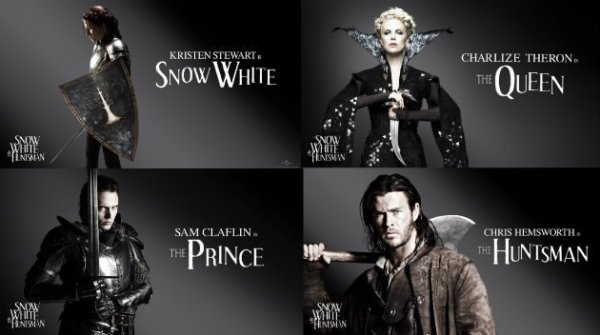 Affiches Officielles Snow White And The Huntsman !!