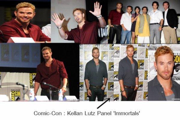 Comic-Con: Les photos du panel 'Immortals' avec Kellan Lutz