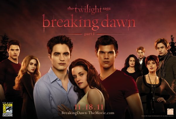 Affiche Grand format et HD Breaking Dawn Partie 1