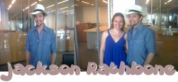 Jackson Rathbone au studio Cosmopolitan