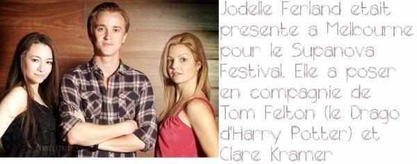 Jodelle Ferland (Bree Tanner~Eclipse) au Supernova Festival