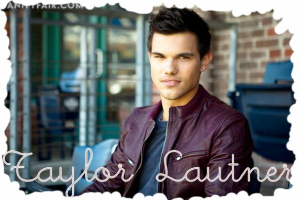 Photo de Taylor Lautner pour Vanity Fair