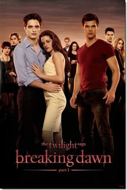 """Une """" Nouvelle """" Affiche de Breaking Dawn"""