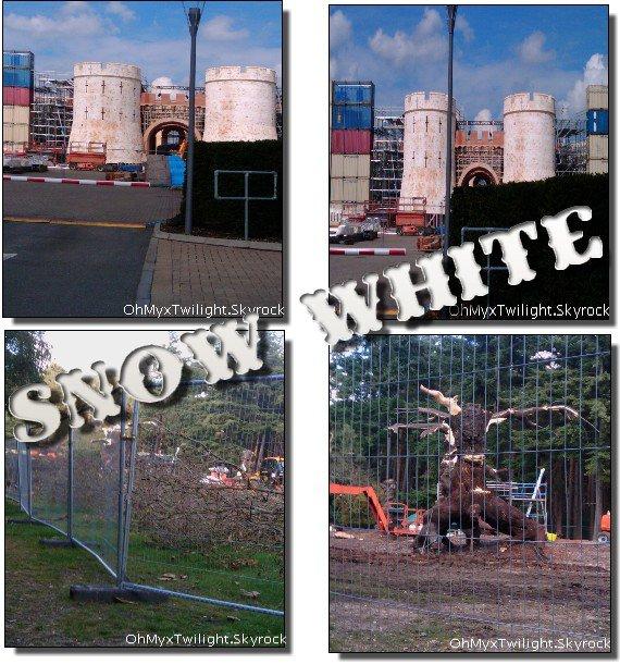 Tournage de Snow White + Information sur On The Road