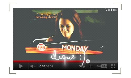 Une scène exclusive de Breaking Dawn va être dévoilée dans l'émission ET de lundi ! :) [ Petit teaser ;) ]
