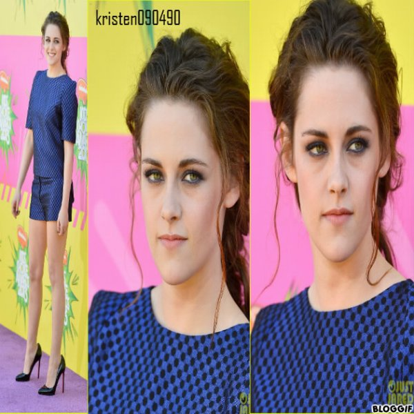 kristen aux kids choice awards 2013