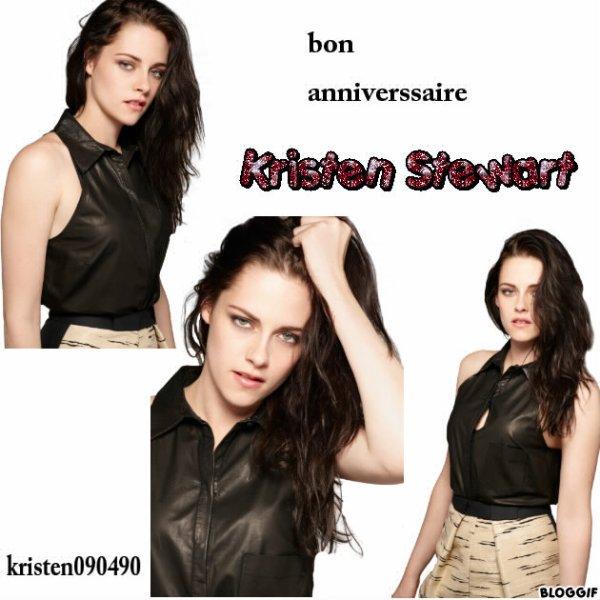 bon anniversaire Kristen
