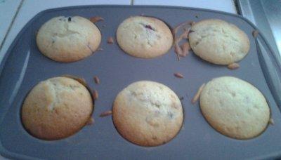 Voici la recette de base du muffin