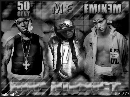 50CENT, EMINEM and ME
