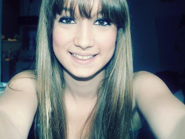 Plus aucunes larmes, tu ne verras que des sourires venant de moi maintenant ..!